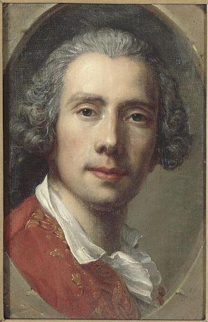 Guillaume Voiriot - Guillaume Voiriot,  Self-portrait, ca. 1749