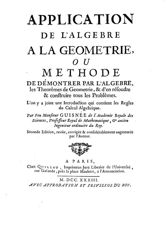 Algèbre et géométrie MPSI - D.Guinin B.Joppin - Librairie ...