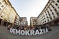 Gure Esku Dago kontzentrazioa - Demokrazia - elkartasuna Kataluniarekin - Zarautz - 2017-09-20 - 2.jpg