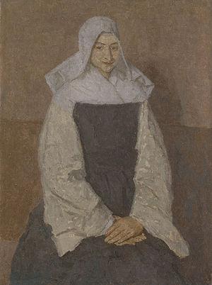 Gwen John - Mère Poussepin, ca. late 1910s, Barber Institute, Birmingham