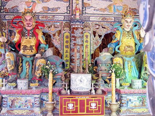 Hộ pháp chùa Linh Phước