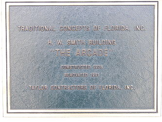H. W. Smith Building plaque.jpg