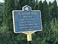 HIstoric marker re Neversink Drive Indian Raid, 1779.jpg