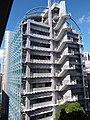 HKU SYP Pokfulam Road Sai Ying Pun 嘉道理生物科學大樓 Kadoorie Biological Sciences Building KBSB facade SSG Sept 2018 02.jpg