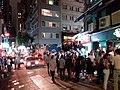 HK 中環 Central 香港蘇豪區 Soho night 依利近街 Elgin Street n 士丹頓街 Staunton Street October 2018 SSG 21.jpg