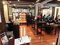 HK Park 香港茶具文物館 Museum of Tea ware Dr SK Lo Gallery Teahouse restaurant interior Dec-2013.JPG