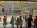 HK Sheung Wan MTR Station exit 德輔道中 Des Voeux Road Central Sept-2013 002.JPG