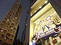 HK Wan Chai night Lee Tung Avenue Johnston Road Xmas tree Dec-2015 DSC (5).JPG