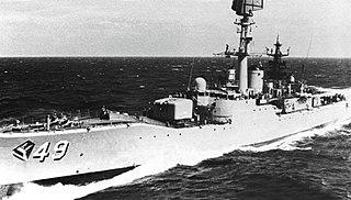 HMAS <i>Derwent</i> (DE 49)