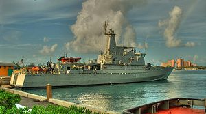 HMBS Bahamas (P-60) - Image: HMBS Bahamas in Nassau