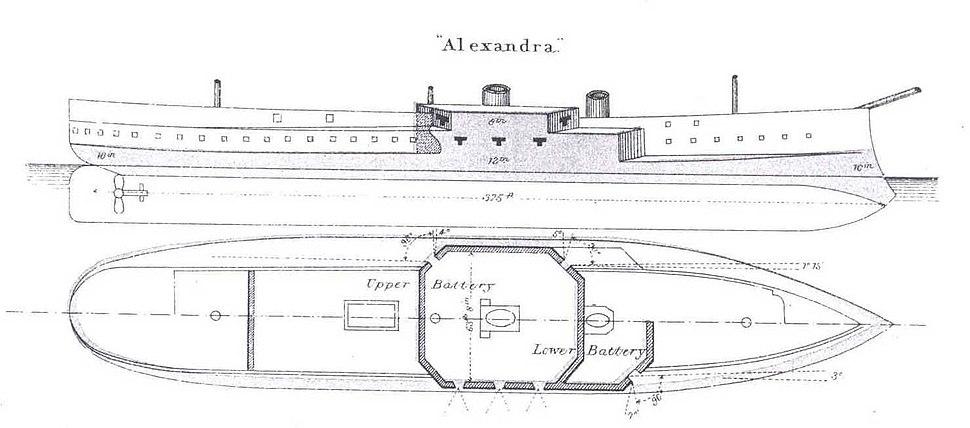 HMS Alexandra - Brassey's 1888