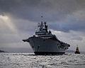 HMS Ark Royal Visits HMNB Clyde for the Final Time MOD 45152036.jpg