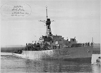 Loch-class frigate - Image: HMS Loch Fada 1944 IWM FL 14721
