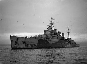 HMS Newfoundland (59) - Image: HMS Newfoundland