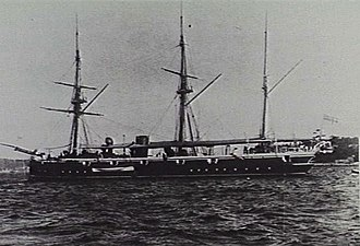 HMS Royalist (1883) - Image: HMS Royalist (1883) AWM 302264