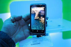 HTC 7 Surround - Image: HTC Surround (5334383134)