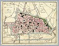 HUA-212036-Plattegrond van de stad Utrecht met directe omgeving met weergave van het stratenplan met enkele straatnamen wegen en watergangen plantsoenen en aandu.jpg
