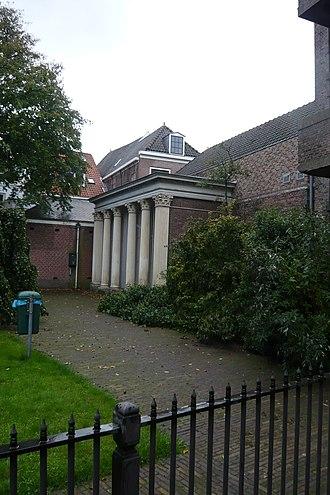 Stedelijk Gymnasium Haarlem - Peace temple in the hortus, built in 1648