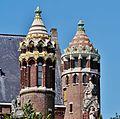 Haarlem Kathedraal Sint Bavo Seitentürme.jpg