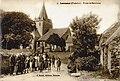 Habitants devant Kernitron 1919 Sorel.jpg