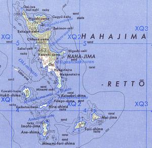 Hahajima - Image: Hahajima retto