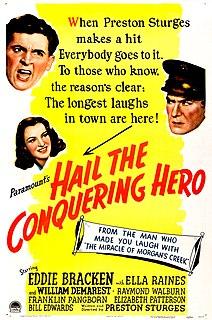 <i>Hail the Conquering Hero</i> 1944 film by Preston Sturges