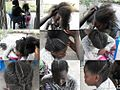 Hair braiding for school - Kinshasa.jpg