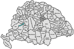 Location of Hajdú