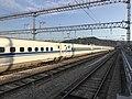 Hakata General Train Base from platform of Hakata-Minami Station 8.jpg