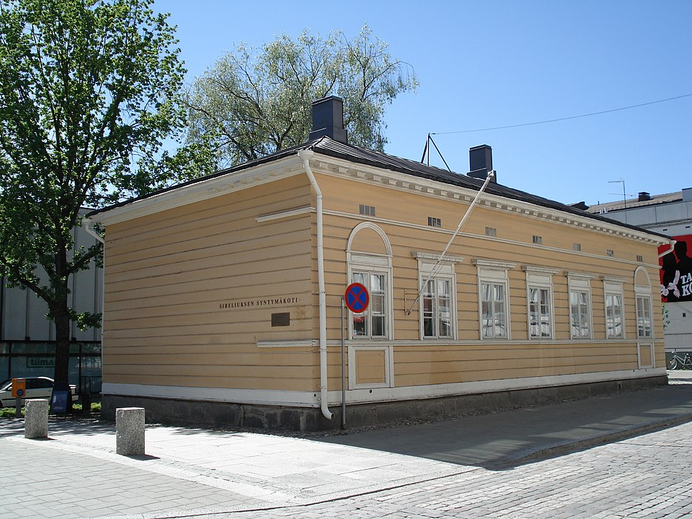 Hameenlinna Sibelius House 1