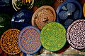Handmade Pottery Plates in Marrakesh, Morocco.jpg
