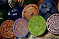Handmade Pottery Plates in Marrakesh, Morocco.jpg