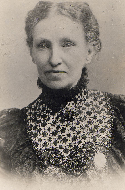 Hannah Elizabeth Vowles nee Thistle (1842-1903). Sister of the Rev Thomas Thistle (1853 -1936). She married Reverend Henry Hayes Vowles (1843-1905) HannahElizabethVowlesneeThistle(1842-1903)wifeofRevHenryHayesVowles.jpg