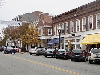 Hanover, New Hampshire - Image: Hanover NH Main Street