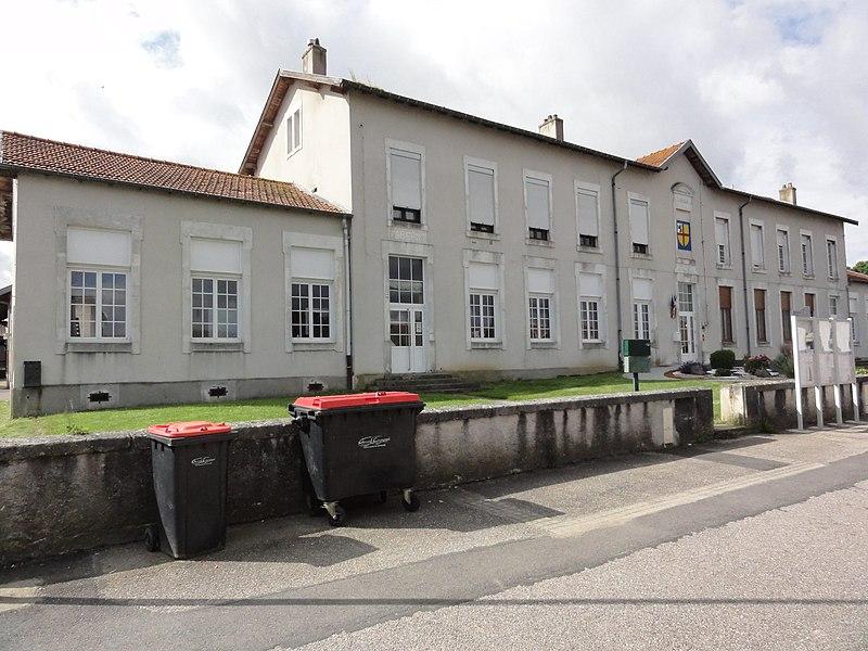 Haraucourt (M-et-M) mairie - écoles