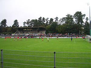 BWT-Stadion am Hardtwald - Image: Hardtwaldstadion