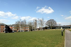 John Horlock - The Horlock Building, named after John Horlock, Open University's Walton Hall Campus, Milton Keynes.