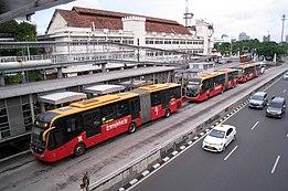 Koridor 1 Transjakarta Wikipedia Bahasa Indonesia