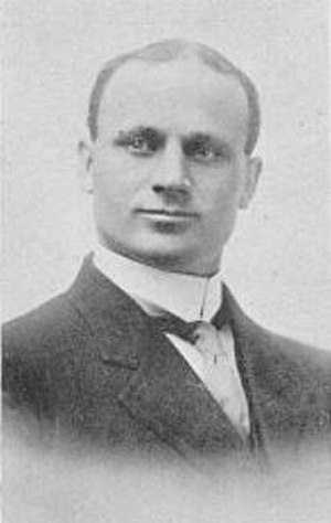 Harvey Holmes - Holmes pictured in Wickup 1913, Idaho State yearbook