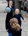 Hasidic Girls at Play - Borough Park - Hasidic District - Brooklyn - New York - USA (10389329736).jpg