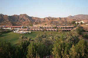 Hatta Fort Hotel - Image: Hatta Fort Hotel, Dubai, United Arab Emirates