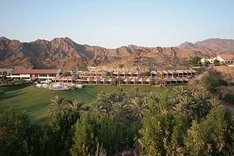 Hatta, United Arab Emirates - Image: Hatta Fort Hotel, Dubai, United Arab Emirates