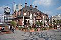 Hauptwache Wachgebaeude Cafe diagonal.jpg
