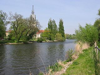 Havel River in Germany