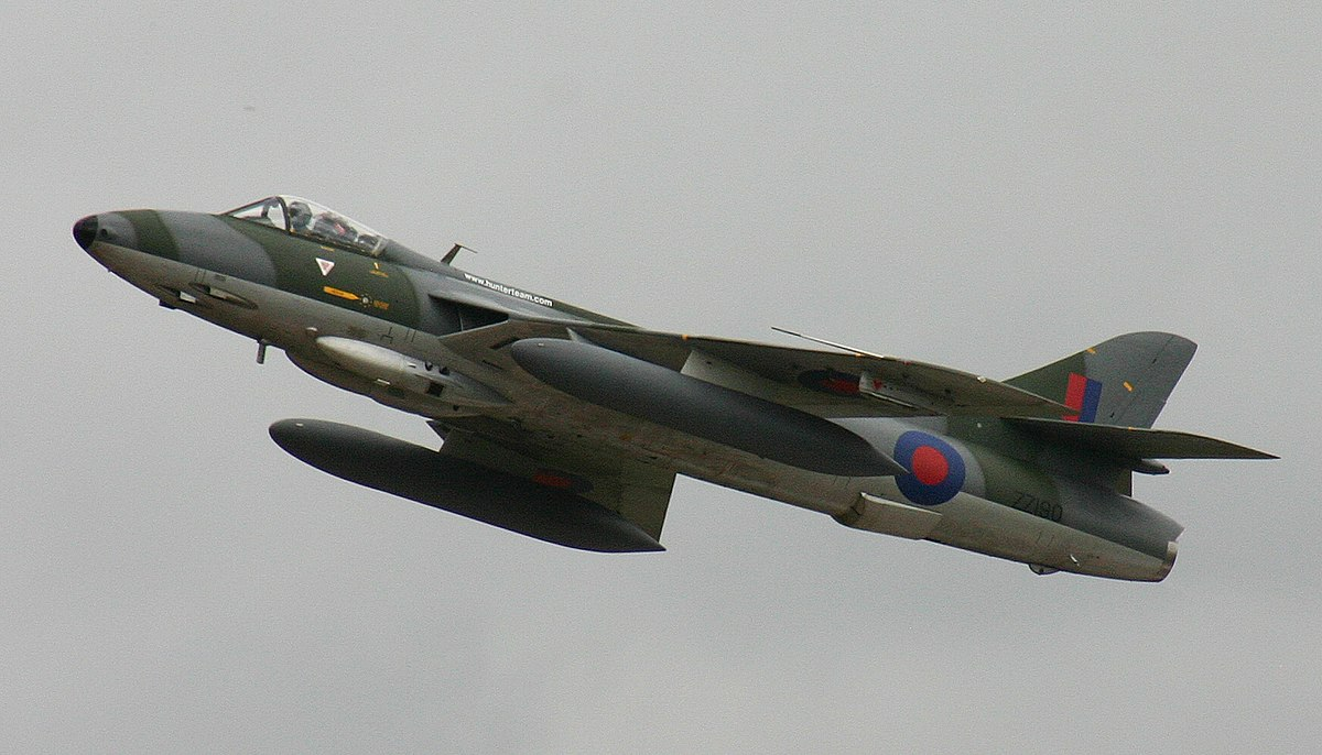 Hawker Hunter Wikipedia Den Frie Encyklop 230 Di