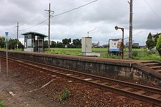 Hayashi Station Railway station in Takaoka, Toyama Prefecture, Japan