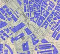 Haymarket Square Boston, overlay of 2006 building footprints on 1881 Mitchell map.JPG