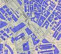 Haymarket Square Boston, overlay of 2006 building footprints on 1881 Mitchell map.JPG