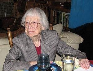 Hazel Barnes - Barnes at her 92nd Birthday