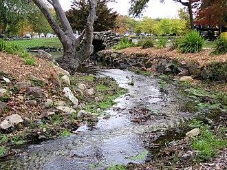 Heckscher Park (Huntington, New York) - Image: Heckscher Park Huntington 2